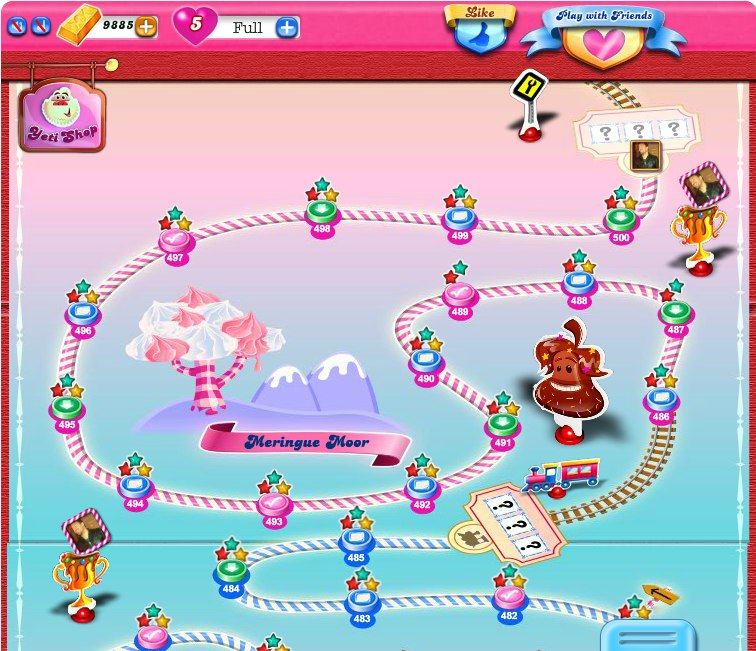 My Candy Crush screenshot